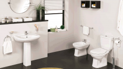 Sanitary wares and Faucets